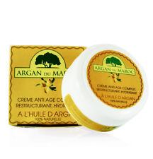 Crème de soin de visage Bio à l'huile d'Argan naturelle pot 100 Ml