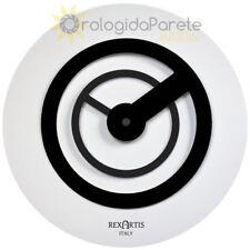 OROLOGIO NERO DA PARETE, ILO REXARTIS, OROLOGI MODERNI, MODERN WALL CLOCKS