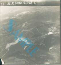 Orig WW2 Photo ariel view Of Camouflage defences Kent
