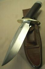 1970's~RANDALL MADE 1-6 ALL PURPOSE FIGHTING KNIFE w/ORIGINAL ROUGH BACK SHEATH~