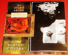 My Dying Bride: As The Flower Withers LP 180G Vinyl Record 2013 Peaceville NEW
