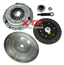 XTR PREMIUM CLUTCH KIT+ OE TYPE FLYWHEEL for 90-91 ACURA INTEGRA B18 CABLE TRANS