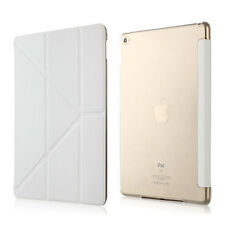 CUSTODIA Integrale SMART COVER SUPPORTO Pieghevole per Apple iPad MINI 4 Bianca