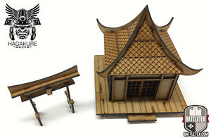 Hogyo Minka - Samurai Japanese Tori - Wargaming Test of Honour Bushido 28mm game