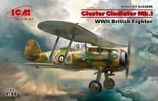 ICM 32040 - 1:32 - Gloster Gladiator Mk.I,WWII British Fighter - Neu