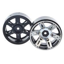 "4X 1/10 RC Car D90 Alloy Wheel Rim 1.9"" 12MM Hub for SCX10  Rock Crawler Set"