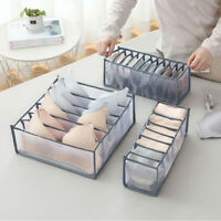 1Pcs Foldable Drawer Organizer Divider Closet Storage Box For Underwear Bra Sock