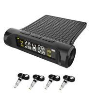 LCD Digital Car TPMS Tire Pressure Temp Monitoring System w/4 Internal Sensors
