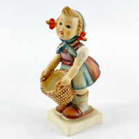 "Vintage Goebel Hummel Figurine ""Little Helper"" #73  TMK-2 Full Bee Mark"