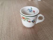 Shenango flower demitasse cup