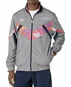 Umbro Premier X Coral Studios Mens Sz.M Reversible Full Zip Jacket Rare $180
