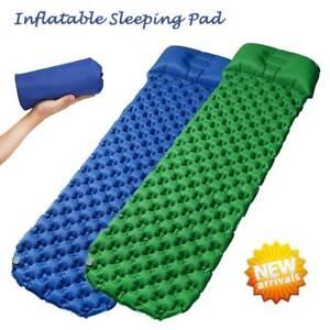 Ultralight Inflatable Camping Air Mattress Blow Up Bed Sleeping Mat Waterproof