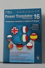 Power Translator 16  Professional 8 Sprachen  ITALY Version LEC / Avanquest