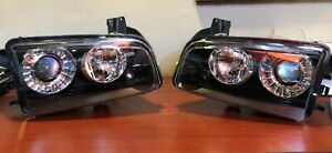 2008-2010 Dodge Charger DRIVER + PASSENGER HID HEADLIGHTS