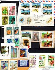NZ, PNG, Tonga, Pacific Islands kiloware - 221 x stamps, nice mixture (68O)