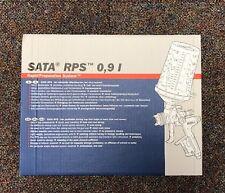 SATA 118471 RPS CUP 0.9L FLAT SIEVE 125 WATERBORNE (40/CS)