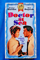 Doctor at Sea - Brigitte Bardot - VHS