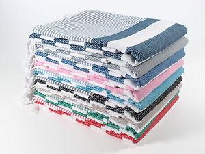 CORAL Turkish Towel Peshtemal Bath SPA Beach Hammam 100% Cotton