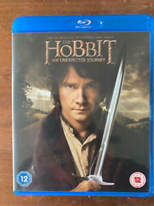 The Hobbit Blu-ray 1 Unxepcted Journey 2012 Tolkein Epic