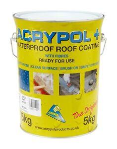 Acrypol + Plus Grey Coating Waterproof Roof Repair Coating 5Kg