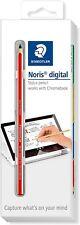 Staedtler Noris Digital Emr Stylus forChromebook   0.7 mm tip   Red (New)!