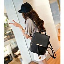 Women's Backpack PU Leather Shoulder Bag Schoolbag Tote Handbag Rucksack Lot