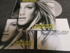 BRITNEY SPEARS / outrageous /JAPAN LTD CD slipcase