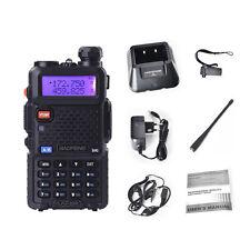 New Baofeng Uv-5Re Dual Band Ham Fm Walkie Talkie 136-174/400-520Mhz Radio Sp