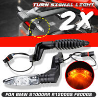 Clear Turn Signal Light Indicator For BMW S1000RR R1200GS ADV K1300 R//S K1200R