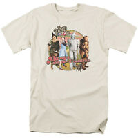 WIZARD OF OZ DIRECTIONS Licensed Adult Men's Graphic Tee Shirt SM-3XL