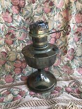 Aladdin Oil Lamp 23 Brass Finish Kerosene/Paraffin Burner Base 1960s