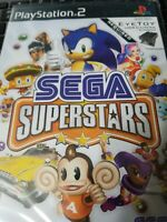 Sega Superstars (PlayStation 2, PS2) Disc Only Tested Fast Free Shipping!