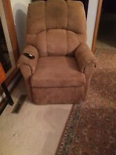 Lift Chair, beige, slightly used.