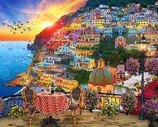 Springbok's 1000 Piece Jigsaw Puzzle Positano Italy