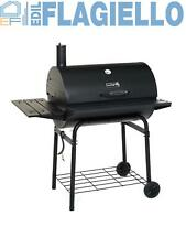 Barbecue Carbone a Barile con Affumicatore Pablo 75