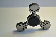Punisher One of a Kind Stainless Steel Fidget Spinner