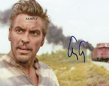GEORGE CLOONEY #2 REPRINT AUTOGRAPHED 8X10 SIGNED PICTURE PHOTO COLLECTIBLE ER
