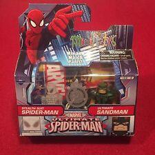 Marvel Ultimate Spider-Man Sandman MiniMates Figures Toys Toys R Us Exclusive