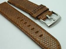 Genuine Veritable Lizard Back Leather Pattern Durable Handmade Watch Strap