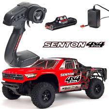 Arrma AR102682 SENTON 4x4 Mega 1-10 Course Courte Truck RTR Rouge Chargeur+Akku