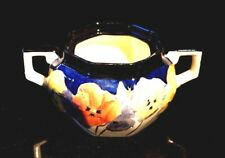 Beautiful Royal Doulton Pansy Sugar Bowl Without Lid