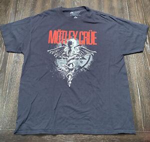 Motley Crue T-Shirt Dr Feelgood Logo Black Tee Authentic XL