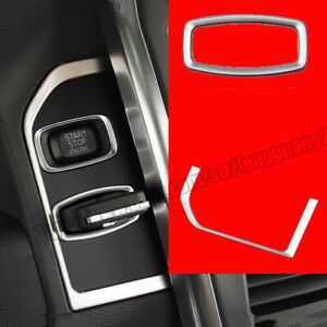 For Volvo XC60 2009-2017 Car keyhole panel decoration trim stainless sequins