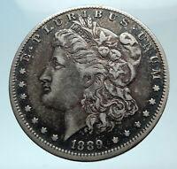 1889 O RARE  UNITED STATES of America SILVER Morgan US Dollar Coin EAGLE i78792