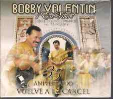 CD Mega RARE salsa FIRST PRESSING Bobby Valentin 35th aniversario en vivo vuelve