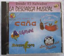 """DESDE EL SALVADOR """"LA DESCARGA MUSICAL"""" VOL 1 CD - BRAND NEW WITH CRACKED CASE"""