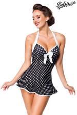 48df4860192e9 Vintage Badekleid Badeanzug im Retro Rockabilly Stil Swimdress Bademode Gr S