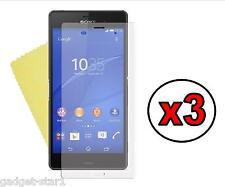3x Hq Mate Anti Glare Screen Protector Tapa Protector Para Sony Xperia Z3