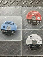 LOT: Star Wars: Rogue Leader, Original Trilogy, & Video Game Nintendo GameCube