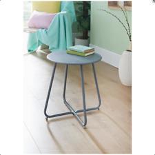 Mobel Folding Side Table Coffee Tea Letter Lamp Bed Side Table - Grey